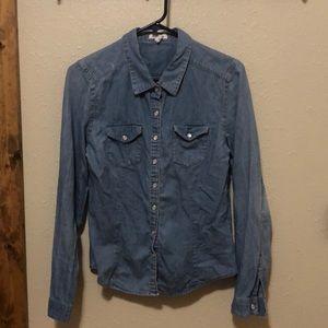 Thin jean jacket